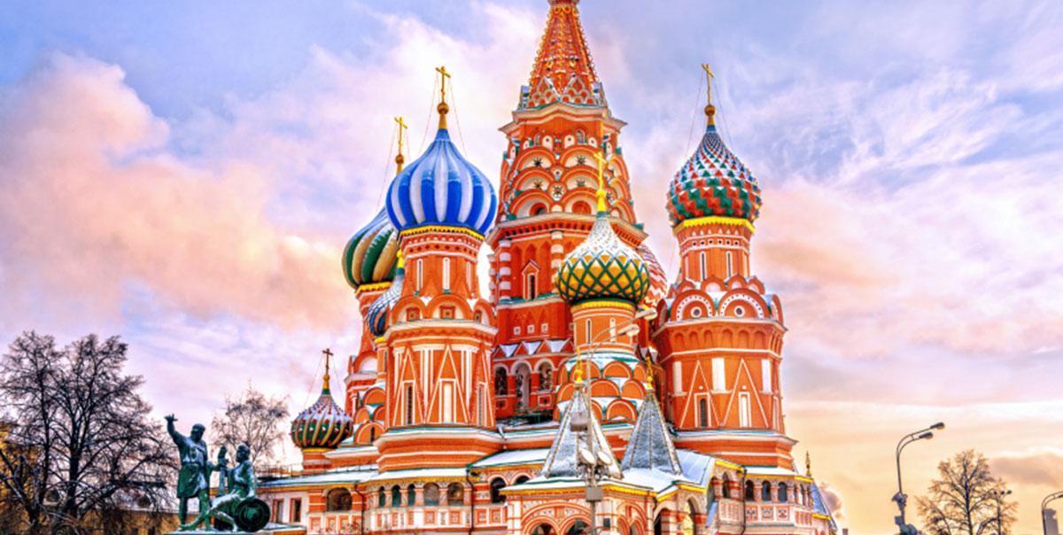 MOSCOW – SAINT PETERBURG (8N7Đ) – Bay AEROFLOT + 1 chặng cao tốc